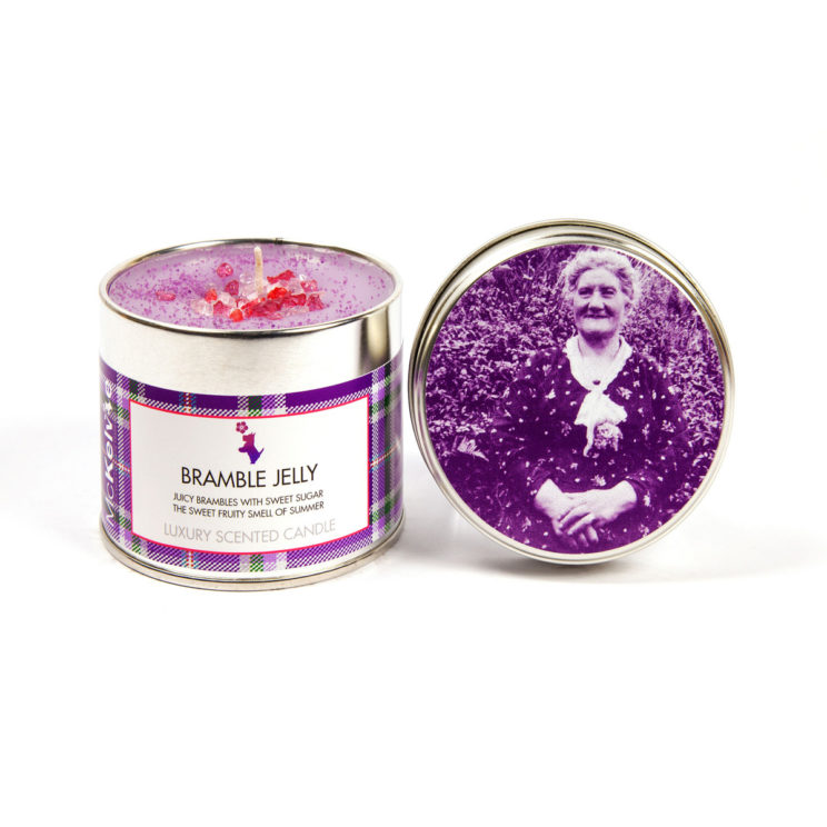 Bramble Jelly Scented Candle Tin