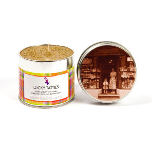 Lucky Tatties Scented Candle Tin