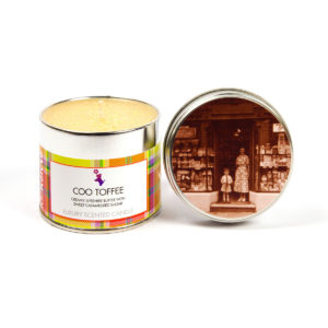 Coo Toffee Scented Candle Tin