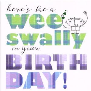Wee Swally Birthday