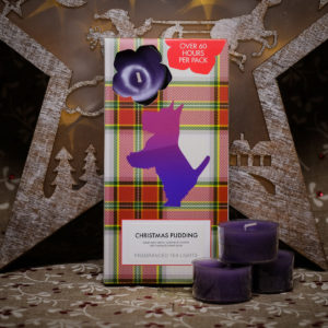 Christmas Pudding Tealights