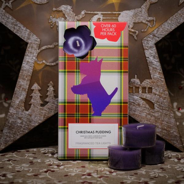 Christmas Pudding Tealights