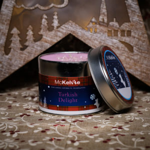 Turkish Delight Scented Candle Tin
