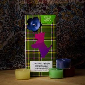 Flowers of Scotland Mixed Tealights