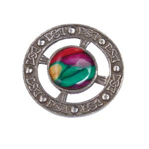 Celtic Circle Brooch
