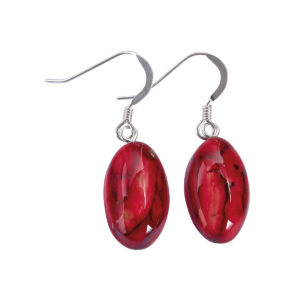 Small Oval Heather Drops