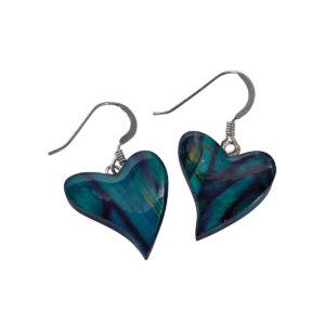 Quirky Heart Heather Earrings